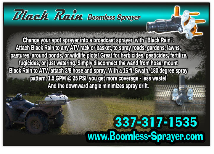 New! Boomless Sprayer for ATV's-black-rain-proof1.jpg