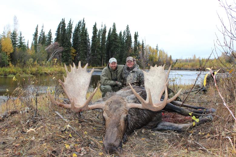3 Moose, a Black Wolf & a Boone & Crockett Grizz!-erics-moose.jpg