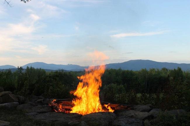 SPORTSMEN'S GETAWAY FOR SALE in NH-firepit.jpg