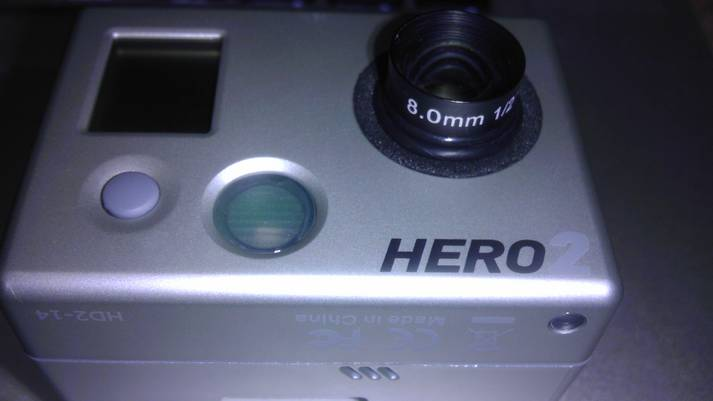 GoPro HD Hero 2 Camera w/ 8mm Ragecams Lens Mod-mygopro1.jpg