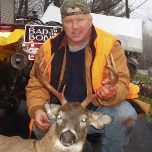 Bruces Vermont 8 pointer