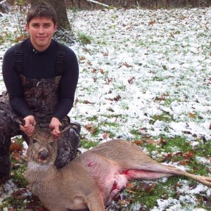 Nice Doe on Thanksgiving
